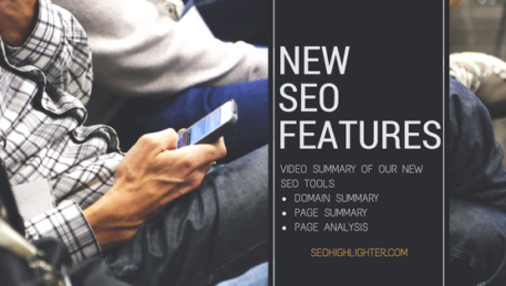 New SEO Features